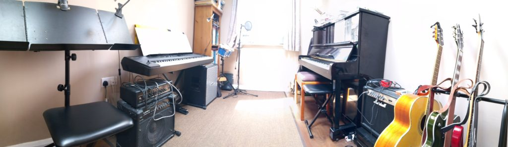 Fully equipped music teaching studio in Skipton