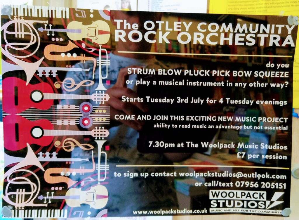 Call for new members - Otley Community Orchestra
