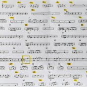 Terry Riley - In C Parts Pic
